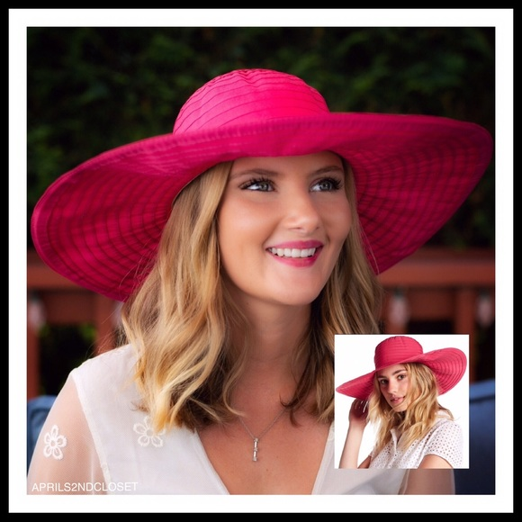 03810ad5 August Hats Accessories | Wide Brim Oversized Floppy Sun Hat A2c ...